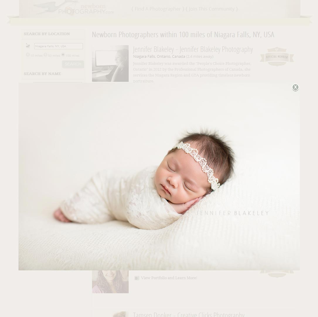 Newborn Photography Search Results