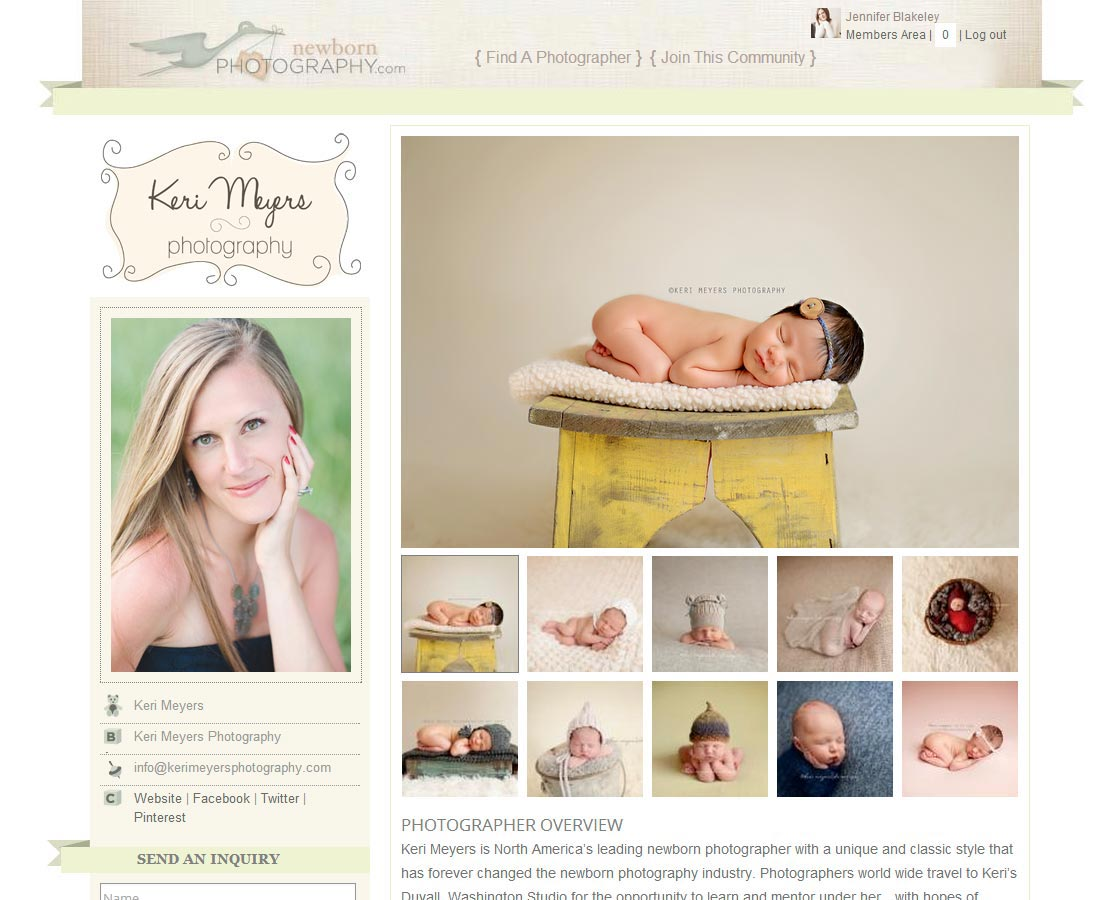 newborn photography public profile